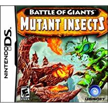 NDS: BATTLE OF GIANTS: MUTANT INSECTS (GAME)